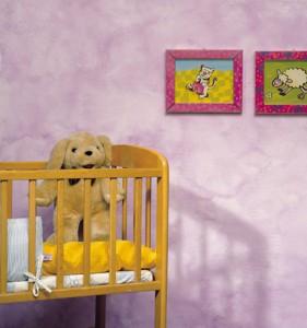 """שימוש בצבע אפקט ע""""ב מים בחדר ילדים- תוצאה משובחת עם מינימום סיכון (קרדיט: אתר טמבור)"""