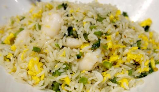 אורז עם בצל ירוק