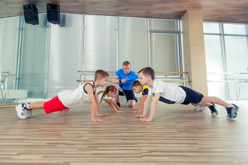 אימון כושר לילדים
