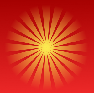 שמש אדומה